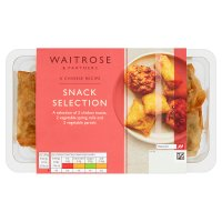 Waitrose Oriental snack selection