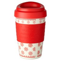 Waitrose Snowflake Coffee Cup