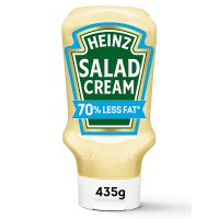 Heinz salad cream 70% reduced fat