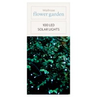 Waitrose 100 LED Solar Lights
