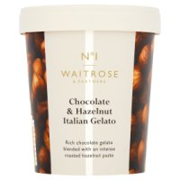 Waitrose 1 chocolate & hazelnut Italian gelato