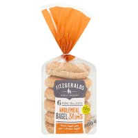 Fitzgeralds Wholemeal Bagel Slims