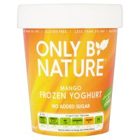 Only By Nature Mango Frozen Yogurt
