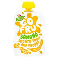 Go Fru banana & yogurt