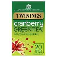 Twinings Green Tea with Cranberry