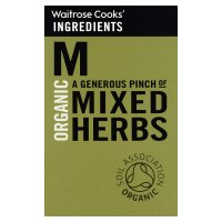 Waitrose Cooks' Ingredients organic mixed herbs
