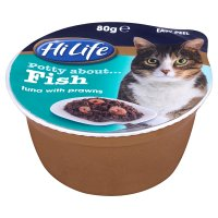 Hi Life 'Potty about Fish' tuna with prawns