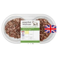 essential Waitrose 2 British lamb burgers