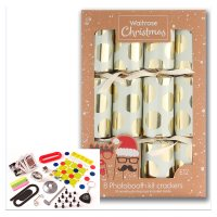 Waitrose Photobooth Gold Spot Crackers