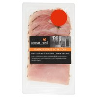 Unearthed Italian roast pork loin, 4 slices