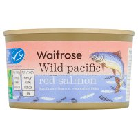 essential Waitrose MSC wild red salmon