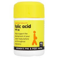 Everyday Health folic acid tablets