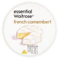 essential Waitrose French Camembert cheese, strength 2