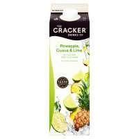 Cracker Drinks Co.pineapple, guava 7 lime juice drink