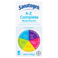 Sanatogen A-Z complete multivitamin