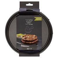 from Waitrose 20cm (8) non-stick loose base spring form cake tin