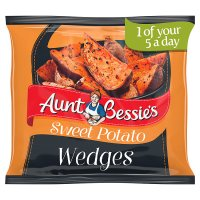 Aunt Bessie's Baked Sweet Potato Wedges