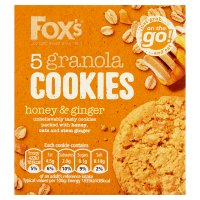 Fox's 5 Granola Cookies Honey & Ginger