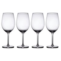 Waitrose Dining Chefs' Entertaining red wine glasses, pack of 4