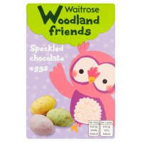 Waitrose Woodland friends speckled chocolate eggs