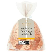Waitrose 3 Malts sourdough with mixed seeds