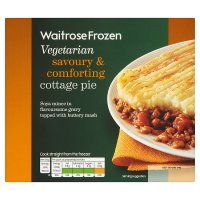 Waitrose Frozen Vegetarian cottage pie