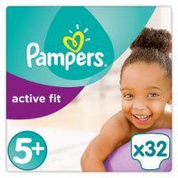 Pampers Active Fit 5+ Essential 34 Nappies