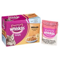 Whiskas Simply grilled fish in jelly pouch cat food