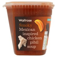 Waitrose Chicken Pibil Soup