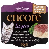 Encore layers with lamb