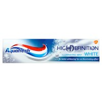 Aquafresh HD mint white toothpaste