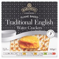 Traditional English Water Crackers