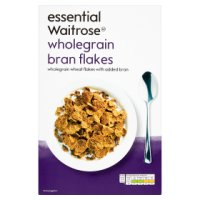 essential Waitrose bran flakes