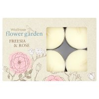 Waitrose Tealights Freesia & Rose