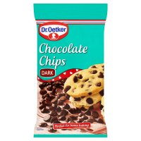 Dr. Oetker plain chocolate chips