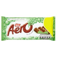 Aero mint chocolate block