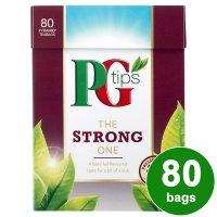 PG tips the strong one 80s Pyramid Teabags