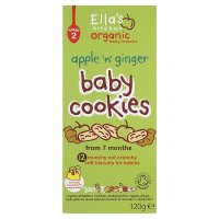 Ella's org baby cookies apple 12s