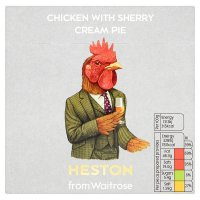 Heston from Waitrose Chicken with Sherry Cream Pie