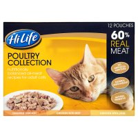 Hi Life 60% Real Meat - Poultry Assortment