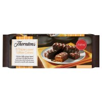 Thorntons triple layer toffee cakes