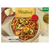 Waitrose Italian Chicken & Pesto Tagliatelle
