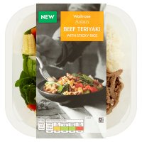 Waitrose Asian Beef Teriyaki with Sticky Rice