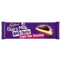 Cadbury Dairy Milk Big Taste triple chocolate bar