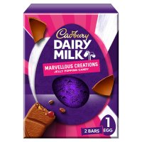 Cadbury Dairy Milk Marvellous Creations Large Easter Egg 291g
