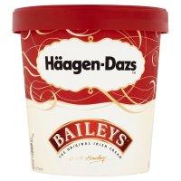 Haagen Dazs baileys ice cream