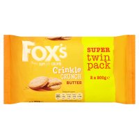 Fox's Crinkle Crunch Butter Twin Pack