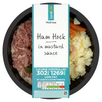Waitrose LoveLife Calorie Controlled pulled ham hock in mustard sauce Review