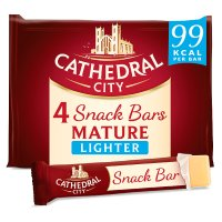 Cathedral City Snack Bars Mature Lighter
