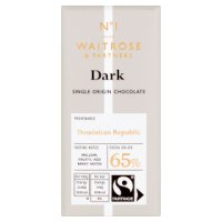 Waitrose Seriously 65% cocoa dark chocolate